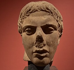 Head of Hermes attributed to Polykleitos