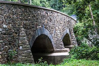 Snicker's Gap Turnpike - Image: Hibbs Bridge Loudoun County