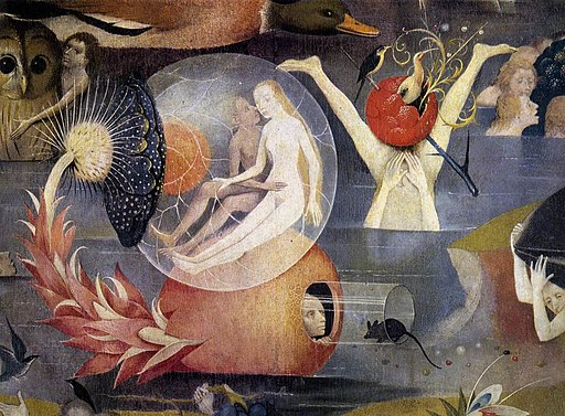 Hieronymus Bosch - Triptych of Garden of Earthly Delights (detail) - WGA2516