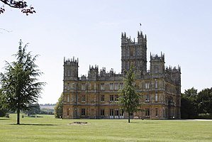 Highclere Castle - View from the grounds