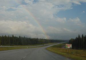 Alberta Highway 43 - Highway 43 eastbound, west of Whitecourt