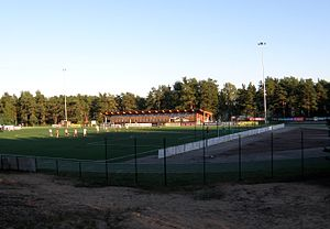 Nõmme Kalju FC - Hiiu Stadium is the home ground of Nõmme Kalju