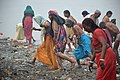 Hindu Devotees Returning Briskly After Holy Dip In Ganga - Makar Sankranti Observance - Kolkata 2018-01-14 6559.JPG