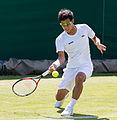Hiroki Moriya 12, 2015 Wimbledon Qualifying - Diliff.jpg