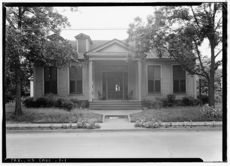 File historic american buildings survey harry l starnes for Houston house elevation
