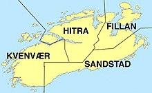 kart over hitra Hitra   Wikipedia kart over hitra