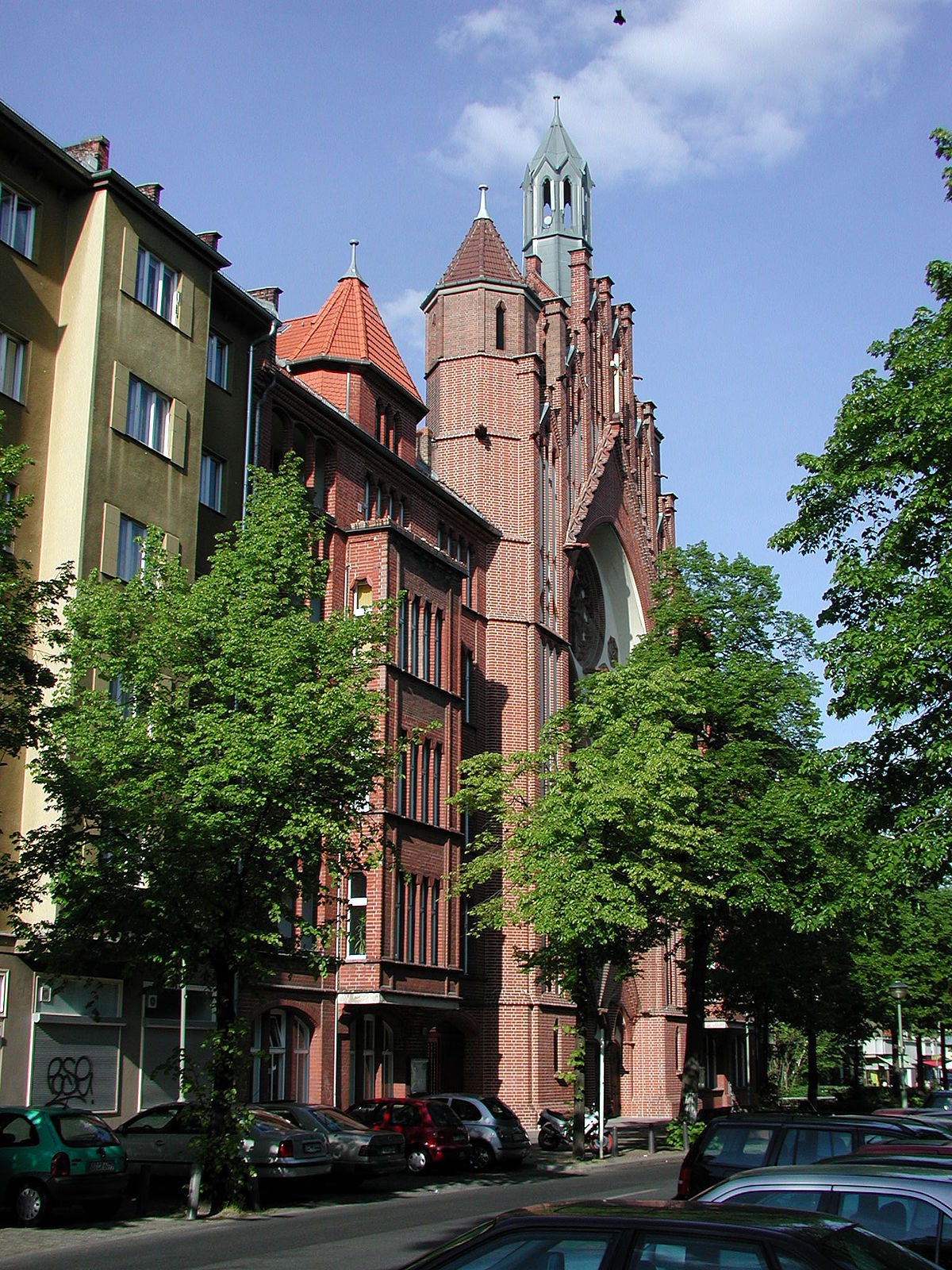 Heilig Kreuz Kirche Berlin Wilmersdorf Wikipedia