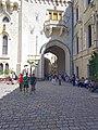 Hluboka Castle Courtyard View.jpg