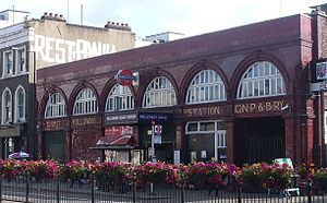 Holloway Road tube station - Image: Holloway Road stn building 02