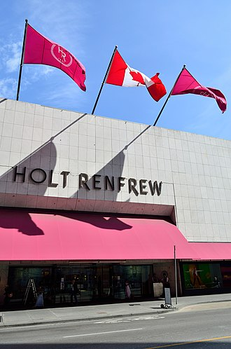 Holt Renfrew - Holt Renfrew flagship store on Bloor Street in Toronto