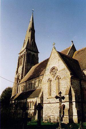 Holy Trinity Church, Privett - Image: Holy Trinity Privett