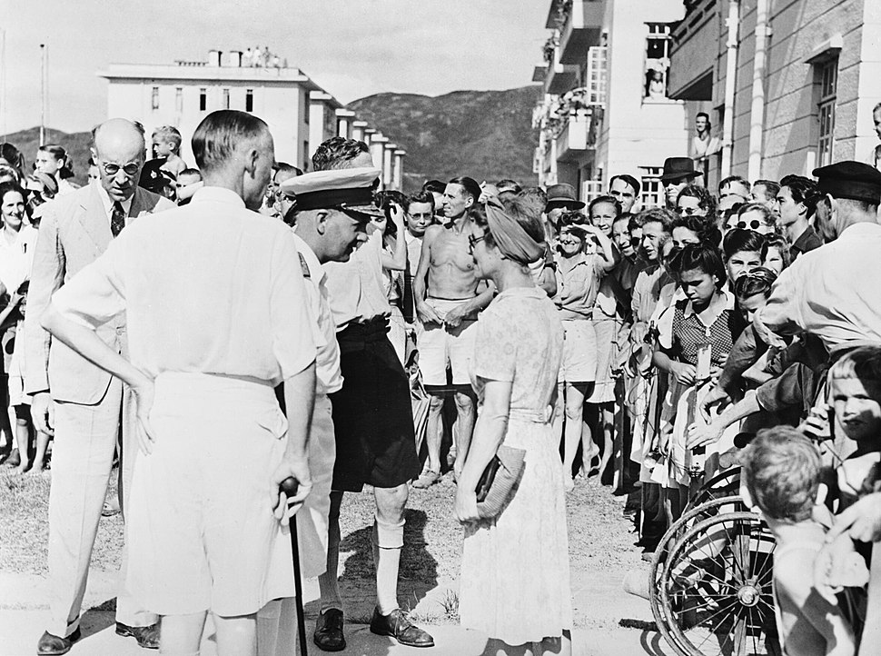 Hong Kong Re-occupied. 30 August 1945, Hong Kong, Before, during and After the Re-occupation of the Crown Colony. A30509