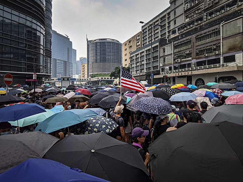 Hong Kong protests - Kwong Tong March 20190824 - IMG 20190824 141747.jpg