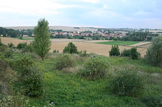 Bedřichovice village in Brno-venkov District of South Moravian region