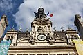 Horloge Hôtel ville façade principale Paris 2.jpg