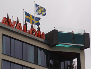 Avalon Hotel (Gothenburg) - The Swimming pool on the roof of the hotel.