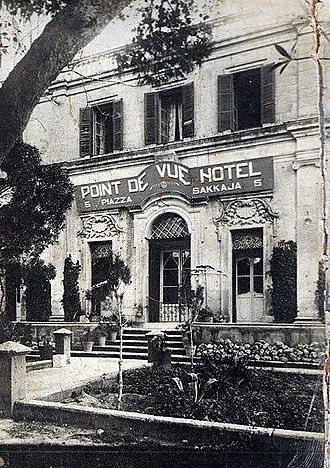 Rabat, Malta - Hotel Point de Vue, Rabat, in the 1930s