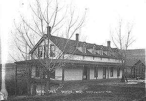 Pateros, Washington - The Hotel Ives, circa 1910