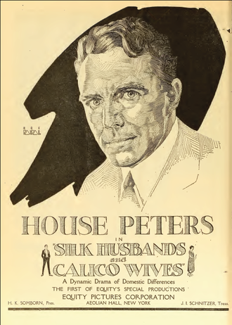 Silk Husbands and Calico Wives - periodical advertisement