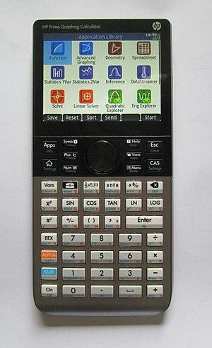 Comparison of HP graphing calculators - Image: Hp prime apps