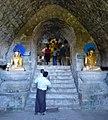Htukkanthein temple interior Buddhas (cropped).jpg