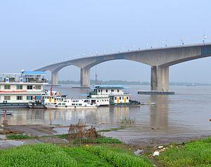 Huangshi Yangtze River Bridge - Image: Huangshi Yangtze River Bridge