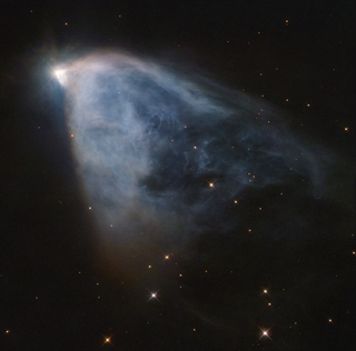 NGC 2261 reflection nebula