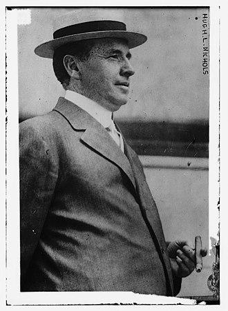 Clermont County, Ohio - Image: Hugh H. L. Nichols, 12 profile holding cigar (LOC)
