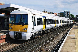 British Rail Class 376 - Class 376 No. 376008 at New Cross