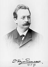 Hugo Riemann (Hamburg, 1889) (Quelle: Wikimedia)