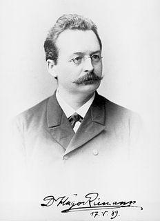 Hugo Riemann German musicologist (1849–1919)