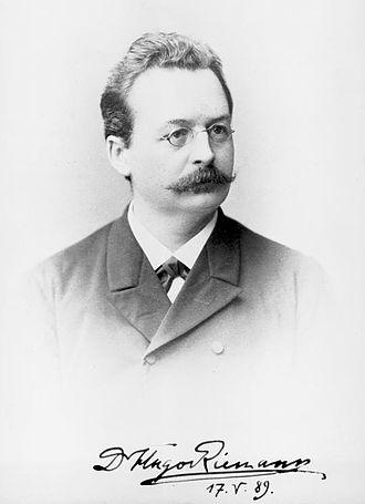 Hugo Riemann - Hugo Riemann (Hamburg, 1889)