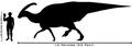 Human-parasaurolophus size comparison.png