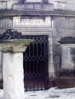 Tomb of David Hume in Edinburgh