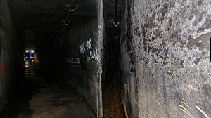 Drainage - Deep inside a Sydney drain in New South Wales, Australia