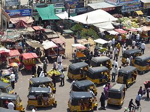 Laad Bazaar - Auto rickshaws near Laad Bazaar