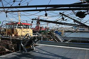 Arklow - Arklow port.