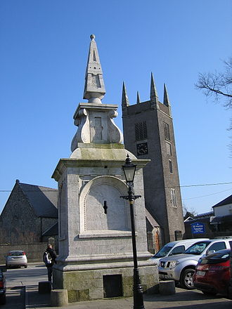 Blessington - Saint Mary's Church and Monument.