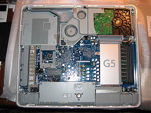 "Inside a 17"" Apple G5 iMac"