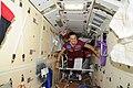 ISS-41 Yelena Serova floats through the Rassvet module.jpg