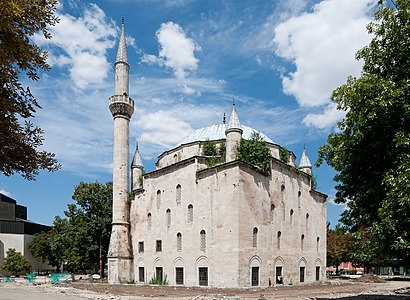 Ibrahim Pasha Mosque in Razgrad, Bulgaria, completed in the beginning of 17th century.