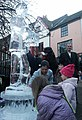 Ice sculpture, Norwich - geograph.org.uk - 294879.jpg
