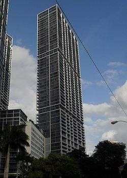 Icon Brickell South Tower from the west.JPG
