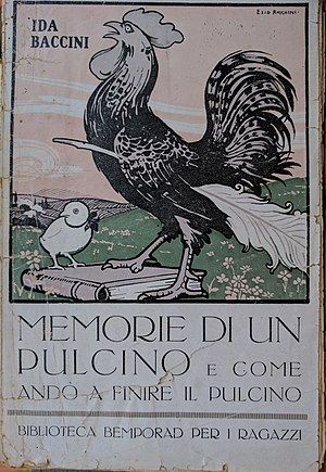 Ida Baccini - Image: Ida Baccini Memorie di un pulcino