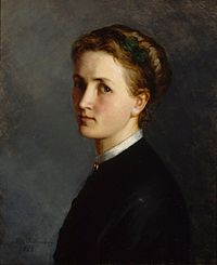 Ida Silfverberg - Self-Portrait - 1868 - Finnish National Gallery A I 123.jpg