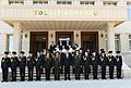Ilham Aliyev viewed conditions created at newly-reconstructed Military Lyceum named after Jamshid Nakhchivanski 03.jpg