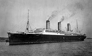 Imperator-class ocean liner - Image: Imperator LOC ggbain 13359u