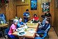 In Aerquipa Peru,…anotrher Peruvian dinner adventure…Sanne,Kerry,Yuri,Nora,Udesh & Kathleen (8443293869).jpg