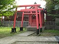 Inari Shrine (稲荷神社) in Toyoda Hakusan Shrine (豊田白山神社) - panoramio.jpg