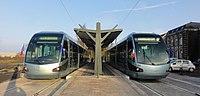 Inauguration de la branche vers Vieux-Condé de la ligne B du tramway de Valenciennes le 13 décembre 2013 (069).JPG